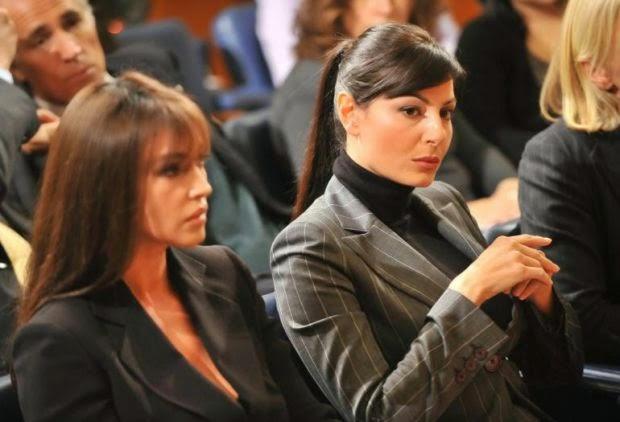 Monica Bellucci e Ilaria D'Amico: a lesbian love?