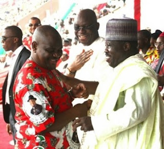 The PDP  WAR Over At Last As Sheriff, Makarfi Factions RECONCILE