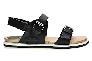 Sandal flip flops cerelia saralee hitam model terbaru
