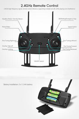 Spesifikasi Drone Eachine E511 - OmahDrones