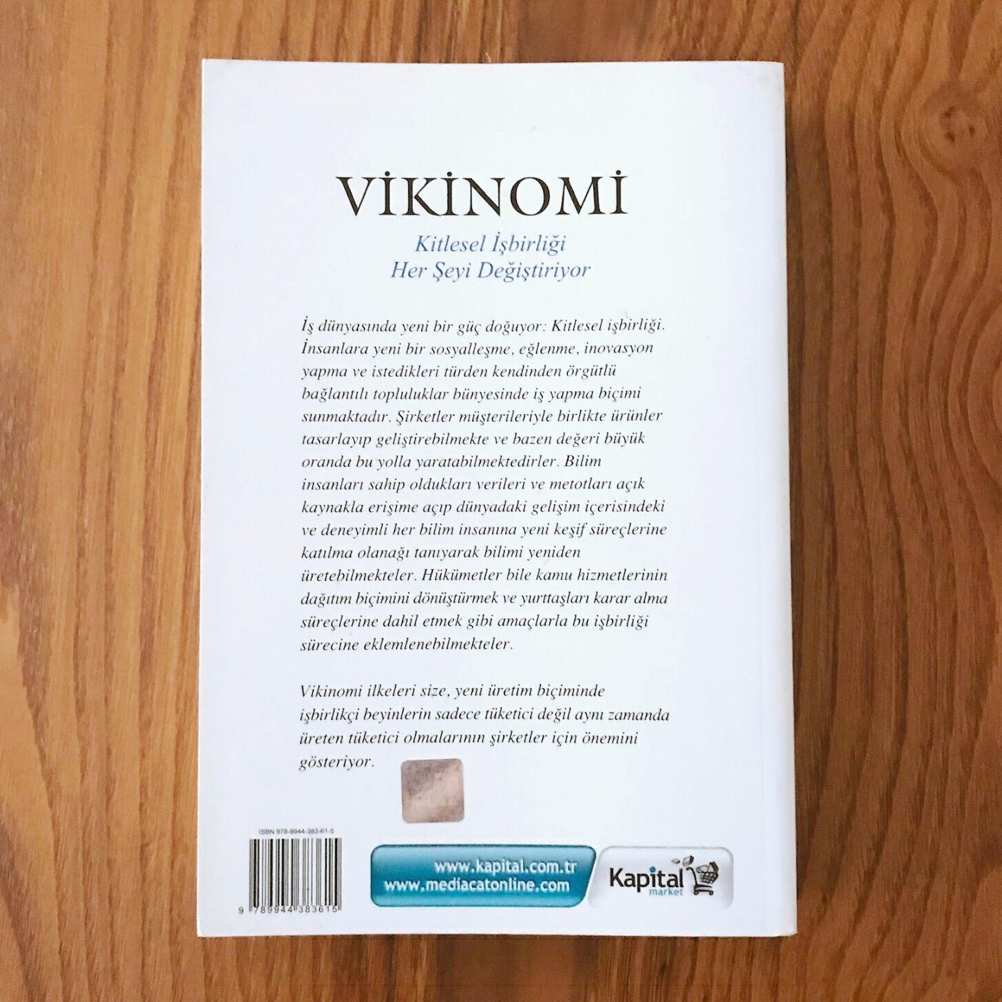 Vikinomi - Kitlesel Isbirligi Her Seyi Degistiriyor (Kitap)