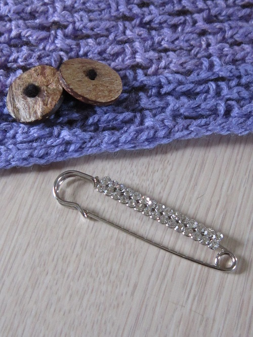 crochet, shawl pin, shawl toggle