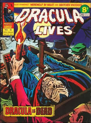 Marvel UK, Dracula Lives #32