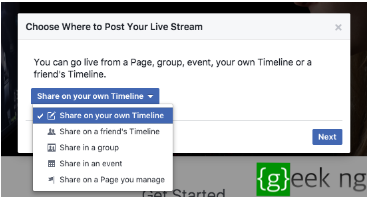 How to Broadcast Live on Facebook