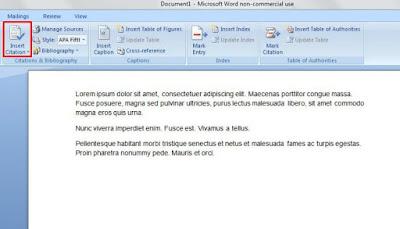 Cara Membuat Kutipan Dan Daftar Pustaka di Microsoft Word-1