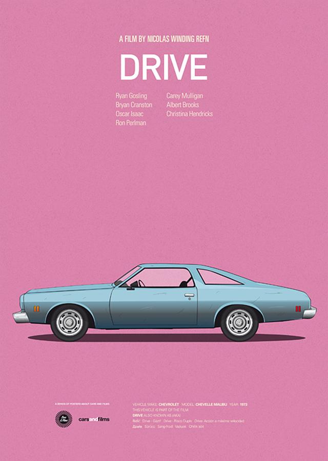 Jesús Prudencio movie car posters
