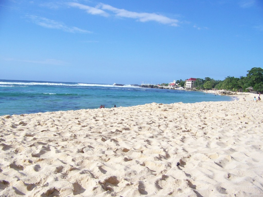 Tourists haven for White sand beach vacations