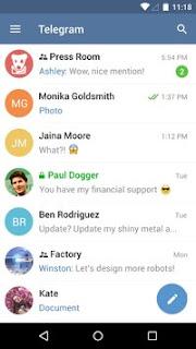 Telegram APK 3.13.2 Update Versi Terbaru 2016