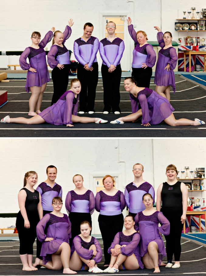 British Gymnastics National Disabilities Display Team photos by STUDIO 1208