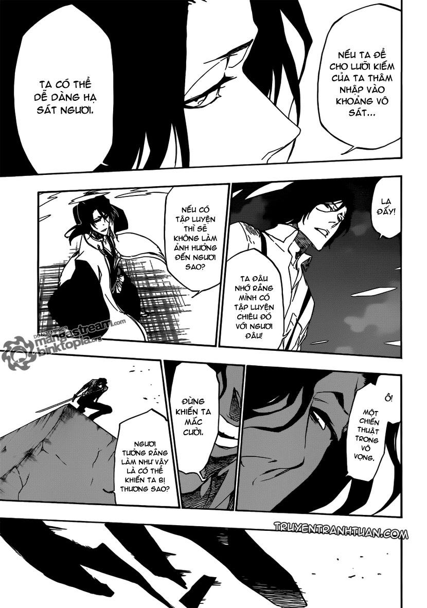 Bleach chapter 472 trang 12
