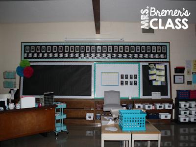 Mrs. Bremer's Class:Classroom Reveal #classroom #teachereyecandy #classdecor #classroomdecor #classroomsetup #school #backtoschool #classroomorganization #organization #classroomideas