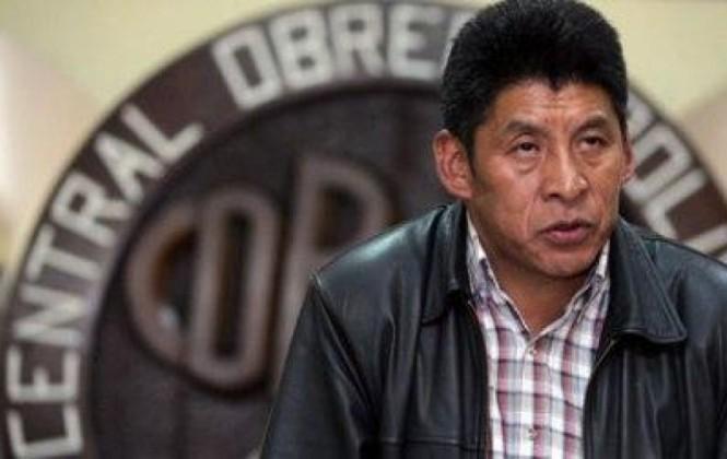 Senador del MAS y ex secretario ejecutivo de la COB / FIDES /APG