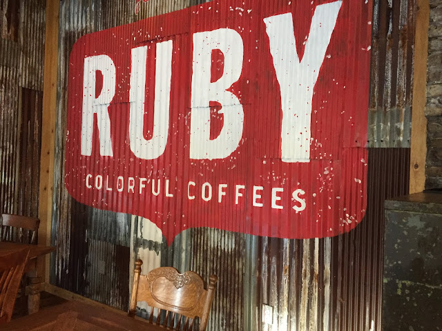 Wisconsin roasted Ruby Coffee from Nelsonville, Wisconsin.