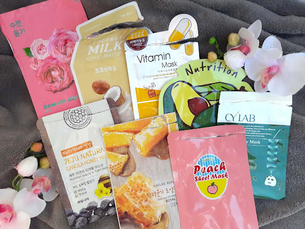 Sheet masks - what I have been using this month
