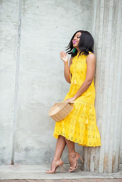 kate spade eyelet dress by Stella Uzo of Jadore Fashion