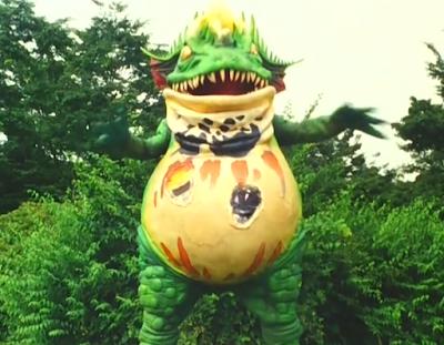 Dora Boogaranan Terror Toad Zyuranger