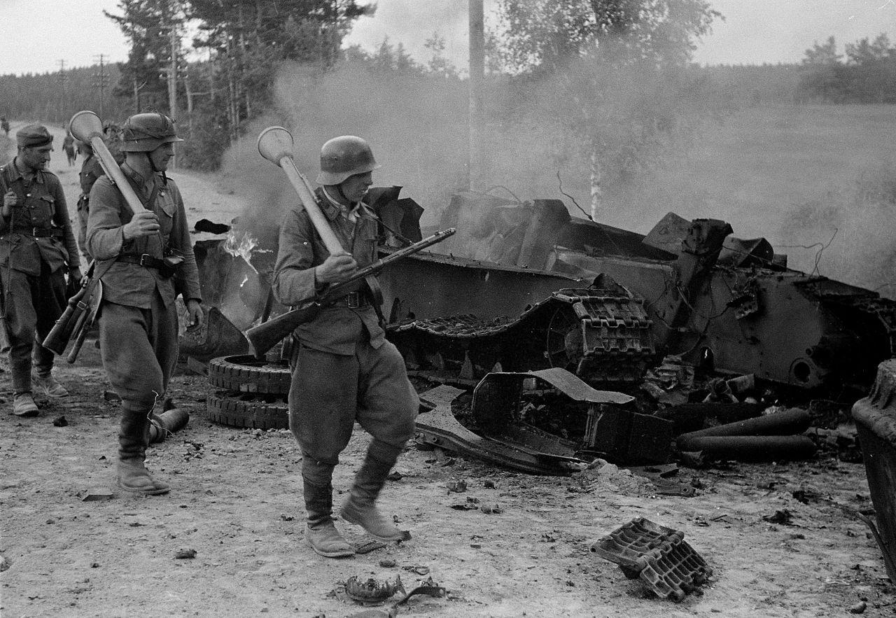 soldats finlandais Tali-Ihantala