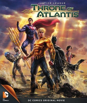 Justice League: Throne of Atlantis DVDRip Latino