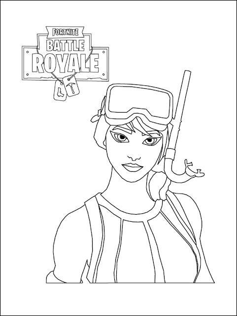 Best Fortnite Coloring Pages Printable Free Coloring