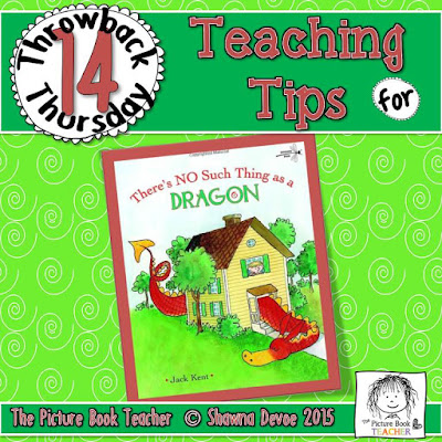 There's No Such Thing as a Dragon by Jack Kent TBT - Teaching Tips.