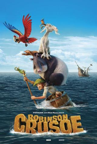 Robinson Crusoe [2016] [DVDR] [NTSC] [Latino]