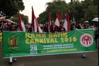 Karnaval Batik Kabupaten Pekalongan 2016