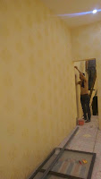 5 bước cơ bản khi thi công giấy dán tường