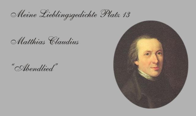 Matthias Claudius-Abendlied