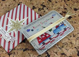 Susis Basteltipps: Verpackung für Pulmoll Mini-Adventskalender mit Stampin' Up! Mini-Leckereientüte