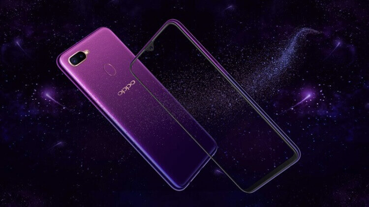 OPPO F9 Starry Purple Arrives in Philippines for only Php17,990
