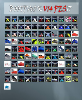 Boots Pack Vol. 14 For PES 17 PC by LPE 09