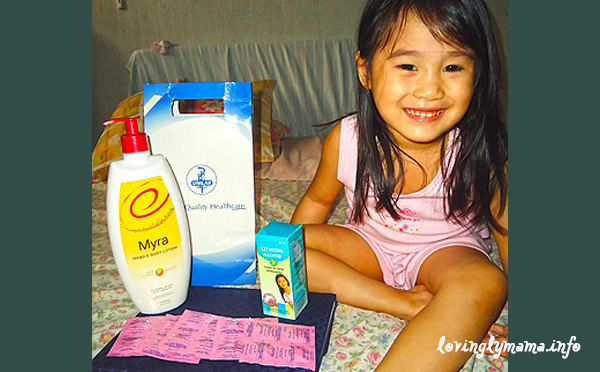 Unilab products - Myra 300E lotion - Allerkid