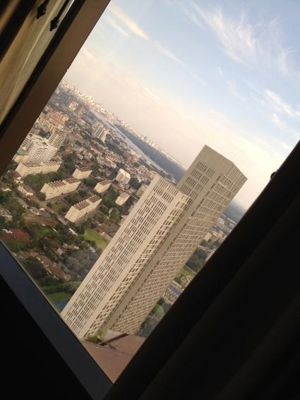 Blick vom Banyan Tree auf Bangkok