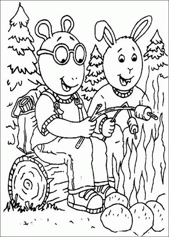 cartoon coloring pages sheets