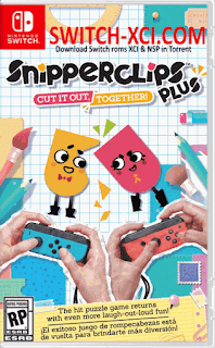 Snipperclips Plus – Cut it out, Together Switch XCI NSP