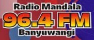 Streaming Mandala digital radio 96.4 fm Banyuwangi