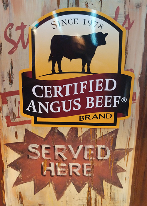 Certified Angus Beef restaurants serve only the #bestbeef