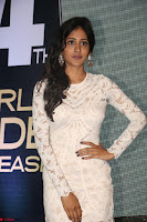Chandini Chowdary in white Tight dress at Shamanthakamani pre release function ~  Exclusive 032.JPG