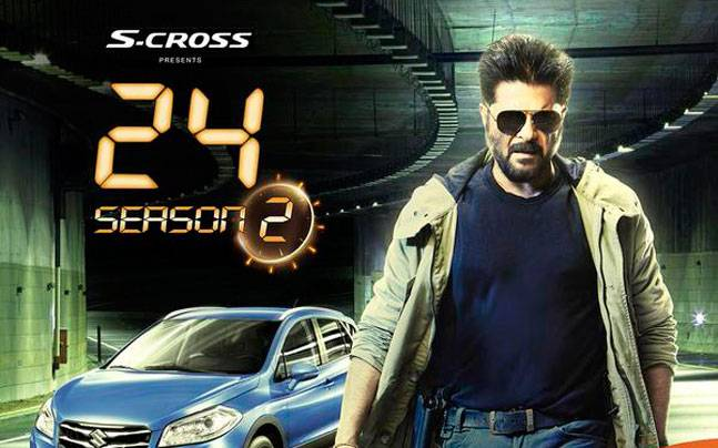 Cast and crew of 24 Season 2 Anil Kapoor TV Show wiki, 24 Season 2 Serial Story, TRP, Indian television: Anil Kapoor, 24 Season 2 TV Show/Serial onm Colors TV