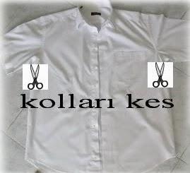 DIY para copiar una blusa con una camisa de hombre