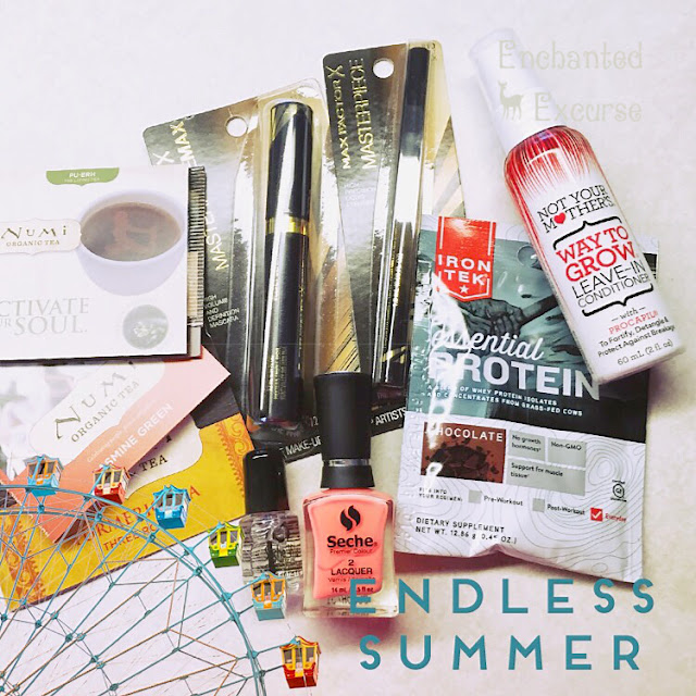 www.enchantedexcurse.com Blog Review for Influenster Endless Summer Voxbox Products