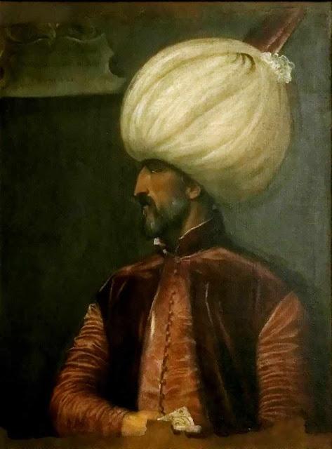 """Solimão o Magnífico mandou ler nas mesquitas do império turco  soberbo panegírico do Grão Mestre: """"aprendei como se cumpre o dever  até o ponto de ser admirado e honrado pelos próprios inimigos"""""""