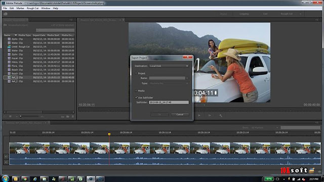 Adobe Prelude CC 2017 Offline Installer Free Download