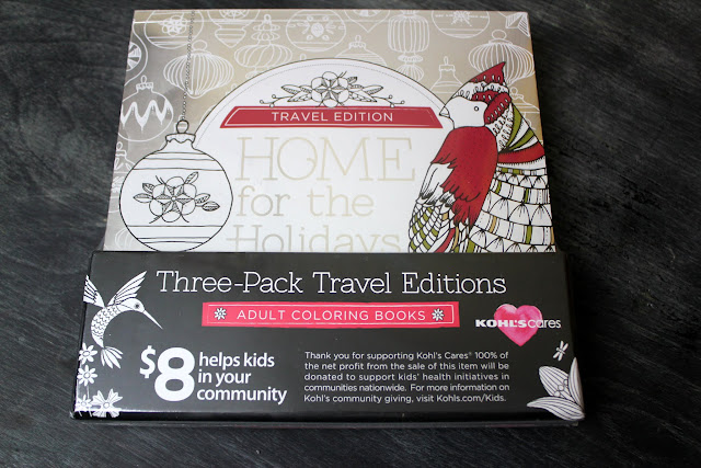 Home For The Holidays Coloring Book Pack 800