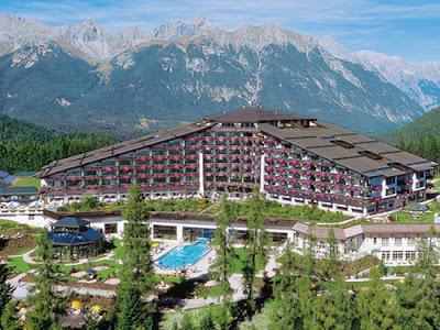 El Interalpen Hotel, en las montañas de Austria son la sede actual del Grupo Bildenberg 2015.