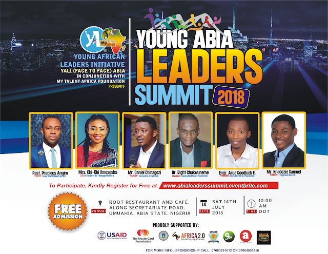 Attend Young Abia Leaders Summit 2018 | Nigeria
