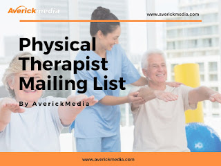 Physical Therapist Mailing List by Averick Media