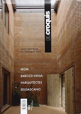 Regalos para arquitectos. Revista El Croquis.
