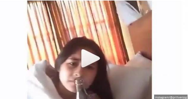 Heboh Video Prilly Latuconsina di Atas Ranjang Bersama Pria sambil minum-minum