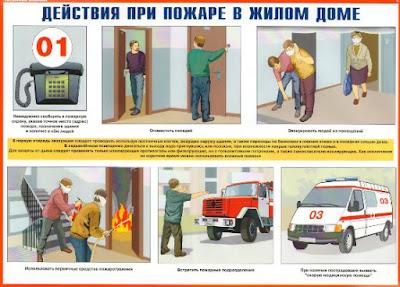 Особенности поведения людей при пожаре в здании повышенной этажности